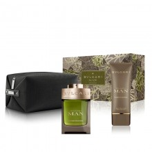 Bvlgari Man Wood Essence Edp 100ml+100ml Asb+pouch Set