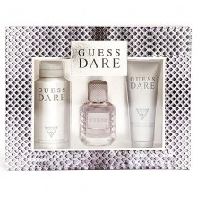 Guess Dare - Eau de Toilette, 100 ml+200 ml Sg+226 ml Body Spray Set