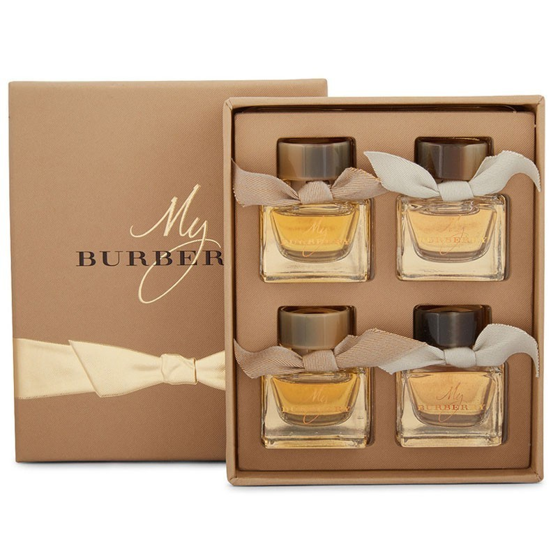 Burberry My Burberry Edt 5 Ml+My Burberry Edp 2 X 5 Ml+My Burberry Black 5 Ml Mini Set