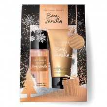 Victoria's Secret Bare Vanilla - Body Mist, 75ml+Body Lotion, 75ml Gift Set