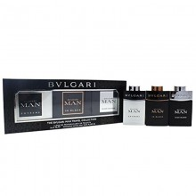 Bvlgari Man Extreme Edt 15 Ml+Bvlgari In Black Edp 15 Ml+Bvlgari Man Edt 15 Ml Mini Set