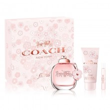 Coach New York Floral - Eau de Parfum 90 ml+100 ml Bl+7.5 ml Mini Set