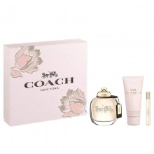 Coach New York - Eau de Toilette, 90 ml+100 ml Bl+7.5 ml Mini Set