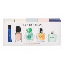 Giorgio Armani - Eau de Toilette+Eau de Parfum, Code 3 ml+ Si 7 ml+Acqua Di Gioia 5 ml+its You 7 ml+Acqua Di Gio 5 ml Mini Set