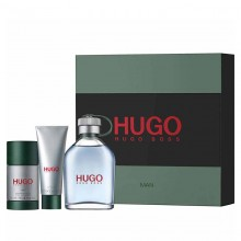 Hugo Boss Green - Eau de Toilette, 125 ml+50 ml Shower Gel+75 ml Deo Stick Set