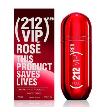 Carolina Herrera 212 Vip Rose Red Limited Edition - Eau de Parfum, 80 ml