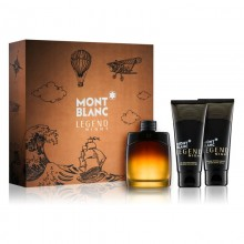 Mont Blanc Legend Night - Eau de Parfum, 100 ml + 100 ml After Shave Balm + 100ml Shower Gel Set
