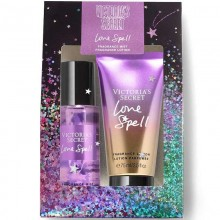 Victoria's Secret Love Spell 75 ml Body Mist+75 ml Body Lotion (Holiday) Gift Set