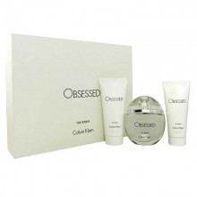 Calvin Klein Obsessed - Eau de Parfum, 100 ml+100 ml Body Lotion+100 ml Shower Gel Set