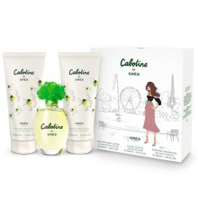 Gres Cabotine - Eau de Toilette, 100 ml+200 ml Body Lotion+200 ml Shower Gel Set