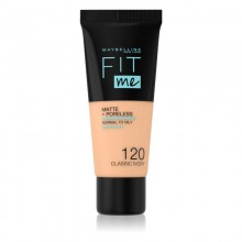 Maybelline Fit Me Matte+Poreless 120 Classic Ivory Face Foundation 30 ml