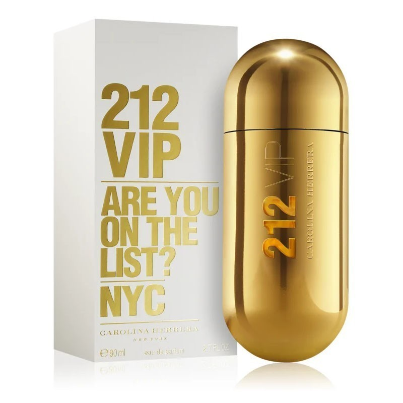 Carolina Herrera 212 Vip (W) Edp 80 Ml