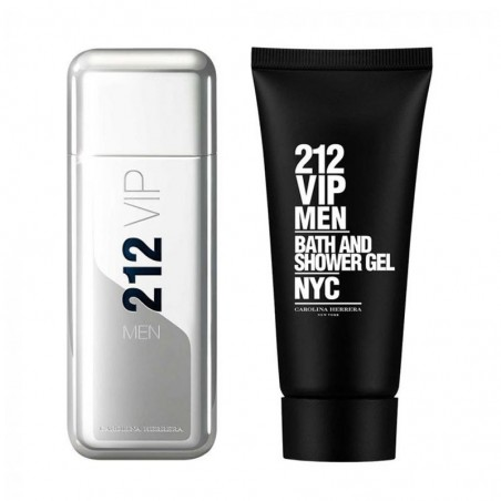 Carolina Herrera 212 Vip - Eau de Toilette, 100 ml+100 ml Shower Gel, Travel Set