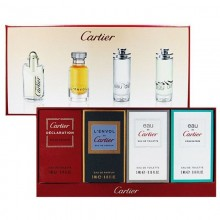 Cartier Declaration 4 Ml+L'Envol De Cartr 5 Ml+Eau De Cartier 5 Ml+Eau De Cencentre 5 Ml