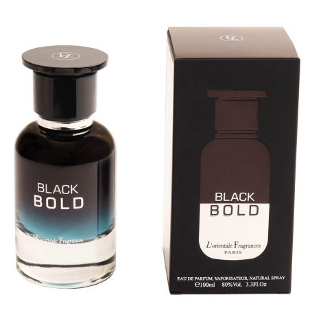 Lorientale Fragrances Black Bold - Eau de Parfum, 100 ml