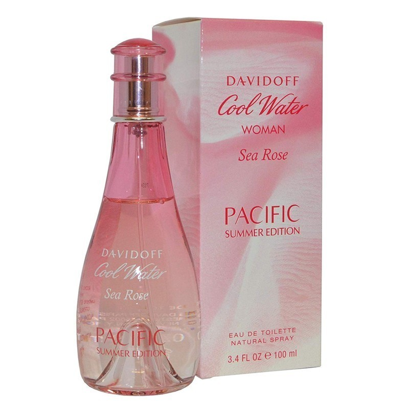 Davidoff Cool Water Sea Rose Pacific Summer Edition (W) Edt 100 Ml