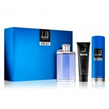 Dunhill Desire Blue (M) Edt 100 Ml+90 Ml Sg+195 Ml Body Spray Set