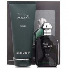 Jaguar Green (M) Edt 100 Ml+200 Ml Bath & Sg Travel Set