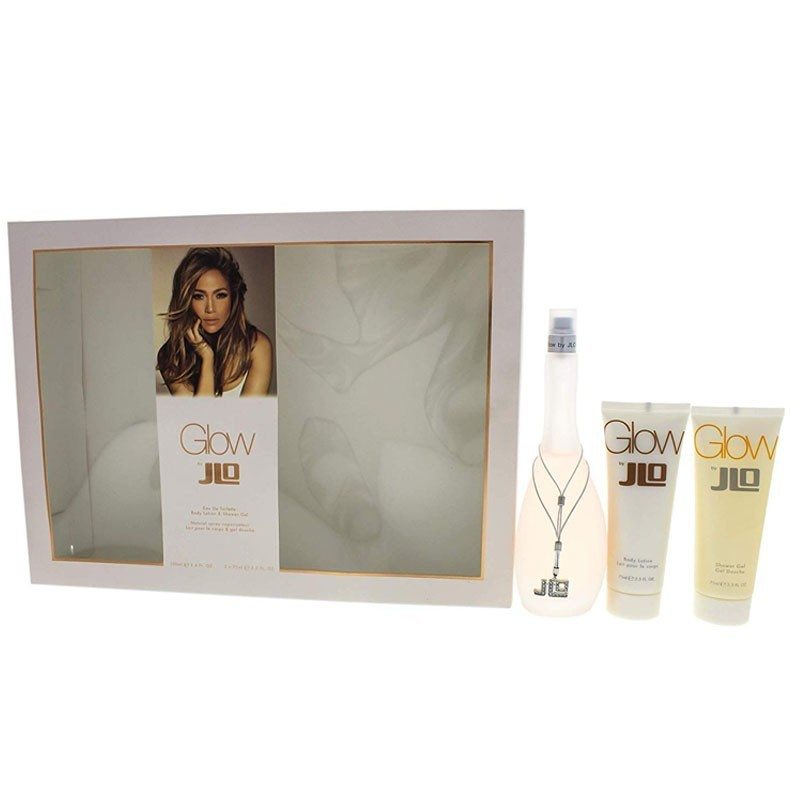 Jennifer Lopez Glow (W) Edt 100 Ml+75 Ml Bl+75 Ml Sg Set