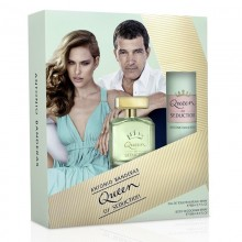 Antonio Banderas Queen Of Seduction (W) Edt 80 Ml+150 Ml Deodorent Set