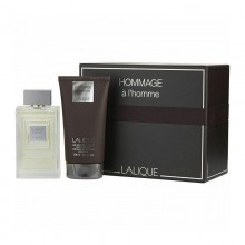 Lalique Hommage (M) Edt 100 Ml + 150 Ml Hair & Body Sg Set