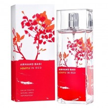 Armand Basi Happy In Red (W) Edt 100 Ml