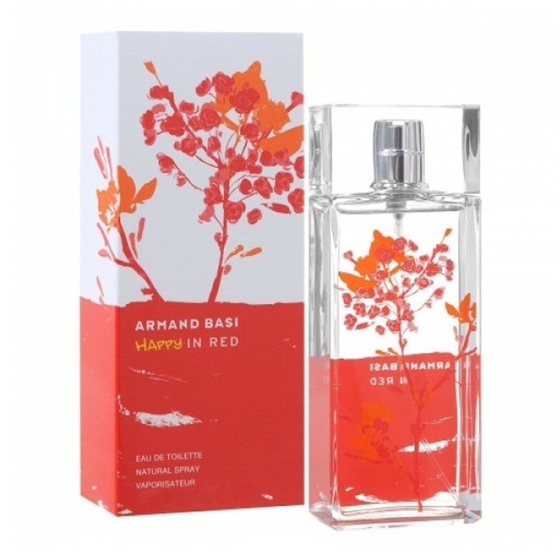 Armand Basi Happy In Red (W) Edt 50 Ml