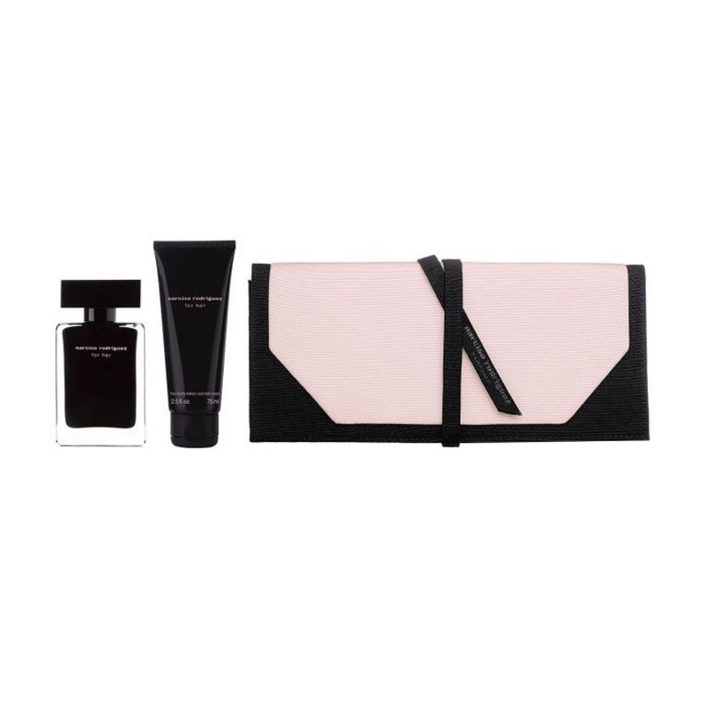 Narciso Rodriguez (W) Edt 50 Ml+75 Ml Bl+Pouch Set
