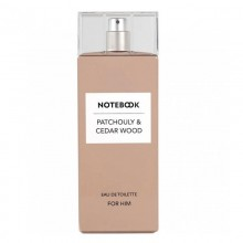 Notebook Patchouly & Cedar Wood (M) Edt 100 Ml