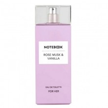 Notebook Rose Musk & Vanilla (W) Edt 100 Ml
