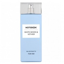 Notebook White Wood & Vetiver (M) Edt 100 Ml