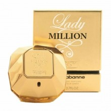 Paco Rabanne Lady Million Absolutely Gold (W) Edp 80 Ml