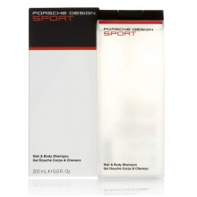 Porsche Design Sport (M) Hair & Body Shampoo 200 Ml