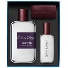 Atelier Cologne Silver Iris Cologne Absolu 200 Ml+30 Ml+ Leather Case Trv Set