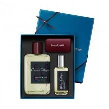 Atelier Cologne Vetiver Fatal Absolue Edp 100 Ml+30 Ml+Leather Case Travel Set
