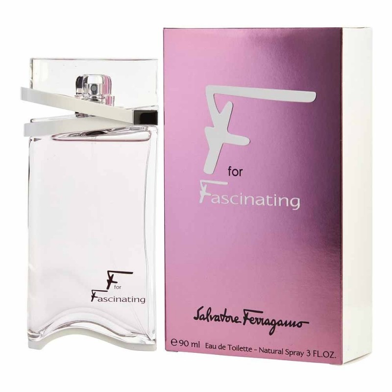 Salvatore Ferragamo F By Fascinating Edt 90 Ml