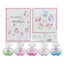 Salvatore Ferragamo Incanto Charms Edt 5 Ml+Shine 5 Ml+Bloom 5 Ml+Dream 5 Ml+Heaven 5 Ml