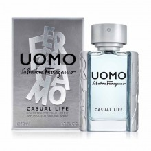 Salvatore Ferragamo Uomo Casual Life (M) Edt 100 Ml