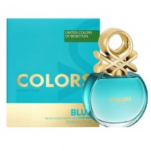 United Colors Of Benetton Colors Blue (W) Edt 80 ml