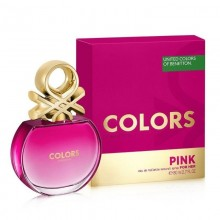 United Colors Of Benetton Colors Pink (W) Edt 80 ml