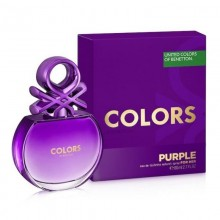 United Colors Of Benetton Colors Purple (W) Edt 80 ml