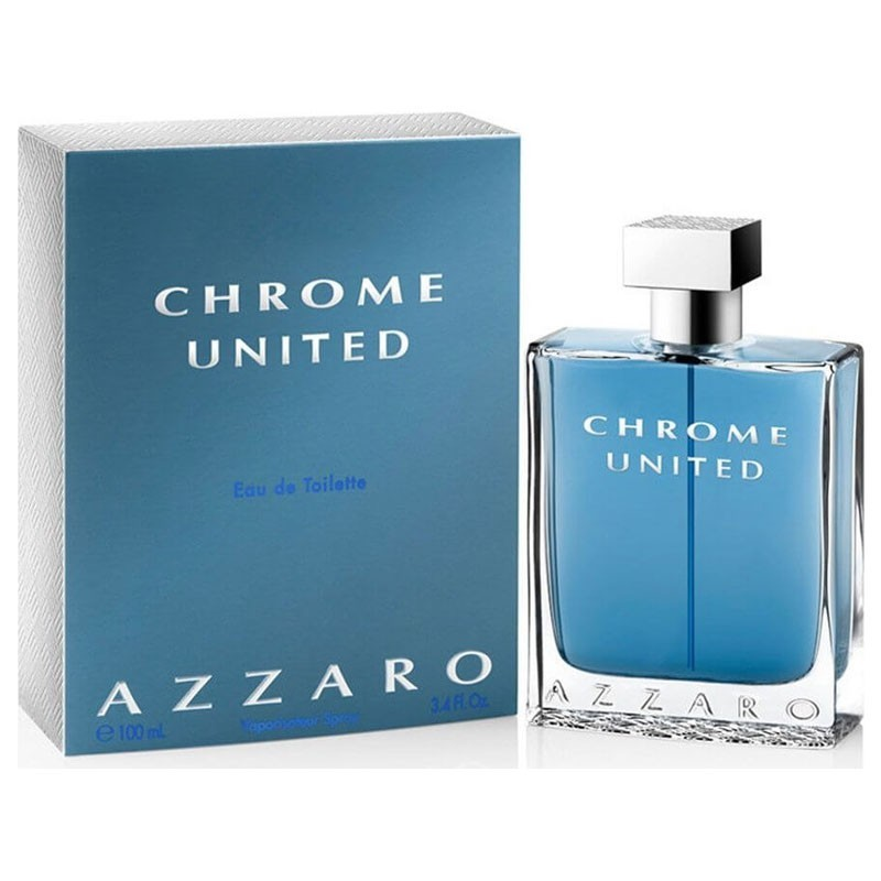Azzaro Chrome United (M) Edt 100 Ml