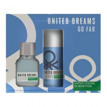 United Colors Of Benetton United Dream Go Far (M) Edt 100 ml+150 ml Deo Set