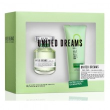 United Colors Of Benetton United Dreams Live Free (W) Edt 80 ml+75 ml Bl Set
