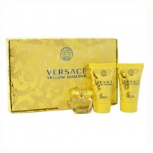 Versace Yellow Diamond (W) Edt 5 ml+25 ml Sg+25 ml Bl Miniture Set