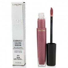 Lancome L'Absolu Gloss Sheer - -351 Sur Les Toits 8Ml Make Up & Cosmetics