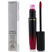 Lancome L'Absolu Lacquer Buildable Shine & Color Longwear Lip Color - - 168 Rose Rouge 8Ml