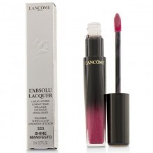 Lancome L'Absolu Lacquer Buildable Shine & Color Longwear Lip Color - - 323 Shine Manifesto 8Ml