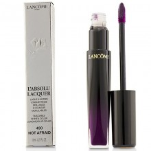 Lancome L'Absolu Lacquer Buildable Shine & Color Longwear Lip Color - - 490 Not Afraid 8Ml
