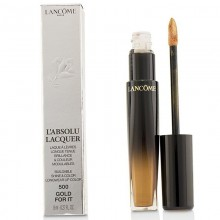 Lancome L'Absolu Lacquer Buildable Shine & Color Longwear Lip Color - - 500 Gold For It 8Ml